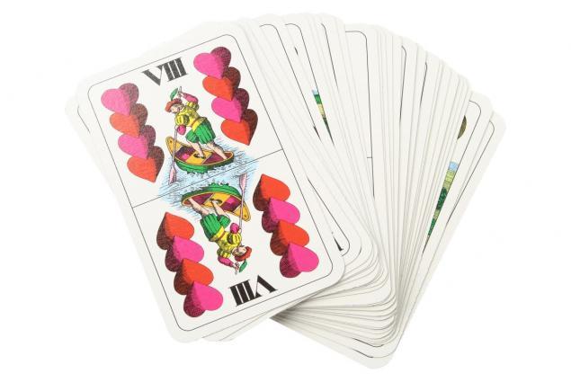 Foto 3 - Maryášové karty dvouhlavé 32 kusů