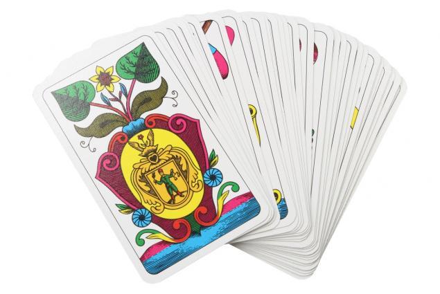 Foto 2 - Maryášové karty jednohlavé 32 kusů