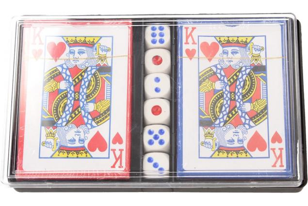 Foto 3 - Karty na poker s kostkami 108 kusů