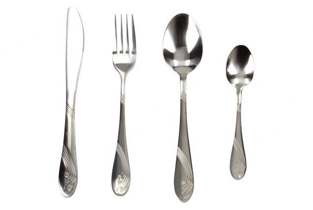 Foto 3 - Sada příbory na stolování 4 kusy