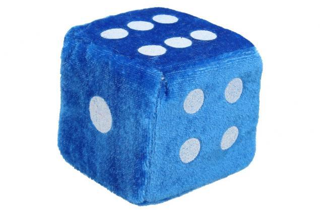 Foto 3 - Plyšové hrací kostky 7 cm