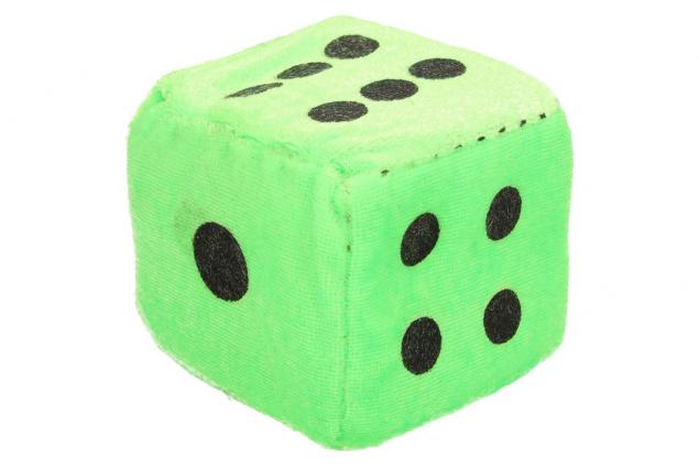 Foto 2 - Plyšové hrací kostky 7 cm