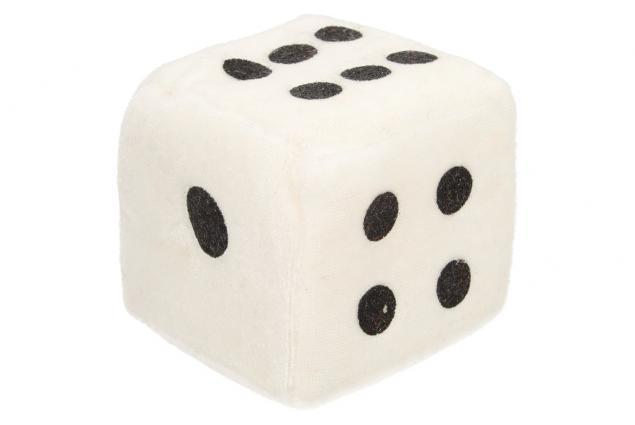 Foto 6 - Plyšové hrací kostky 7 cm