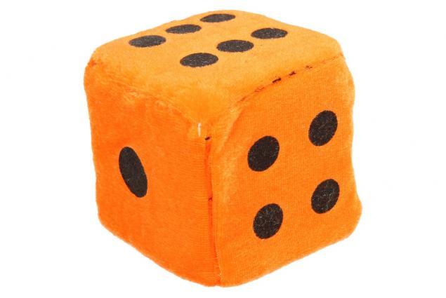 Foto 7 - Plyšové hrací kostky 7 cm