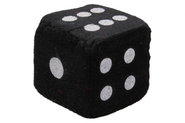 Foto 5 - Plyšové hrací kostky 7 cm