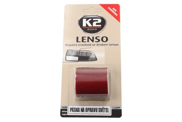 Foto 2 - K2 LENSO - červená opravná páska pro opravu světel