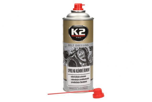 Foto 2 - K2 sprej na klínové řemeny 400 ml