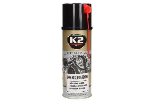 Foto 3 - K2 sprej na klínové řemeny 400 ml