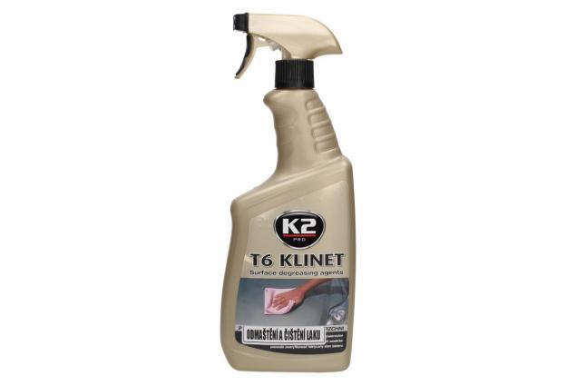Foto 2 - K2 T6 KLINET 770 ml - odmašťovač povrchů