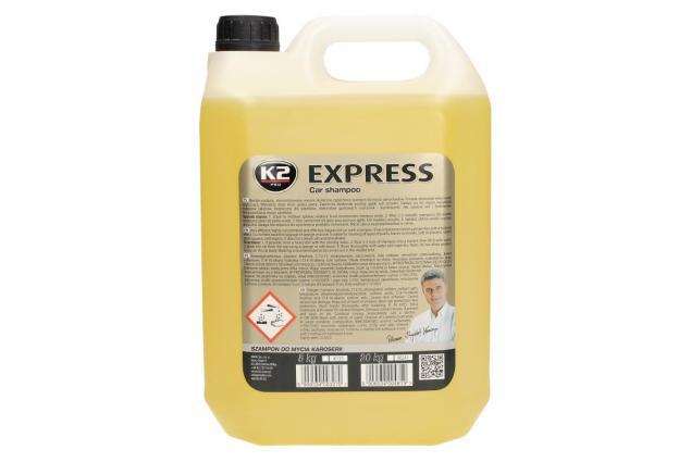 Foto 2 - K2 EXPRESS 5 l - šampon bez vosku
