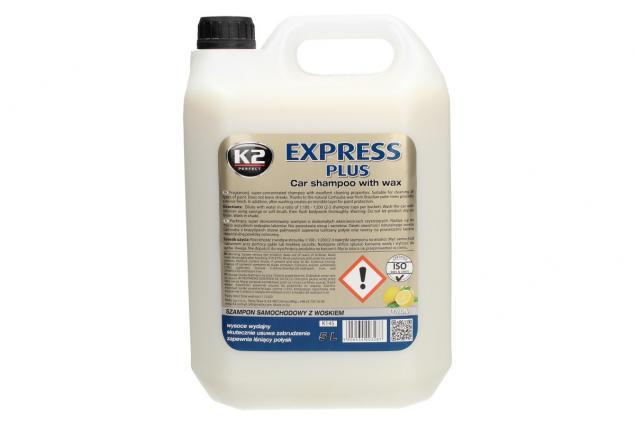 Foto 2 - K2 EXPRESS PLUS 5 l - šampon s voskem