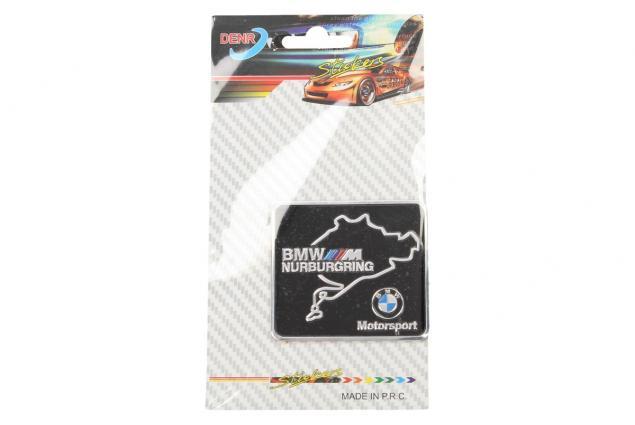 Foto 3 - Kovová samolepka BMW Nurburgring Motorsport 6 x 5,5 cm