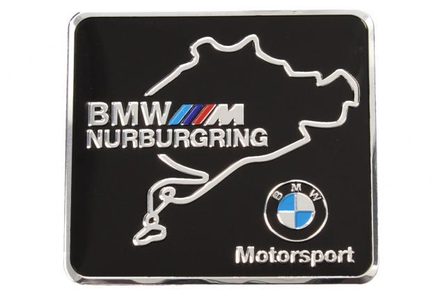 Foto 2 - Kovová samolepka BMW Nurburgring Motorsport 6 x 5,5 cm