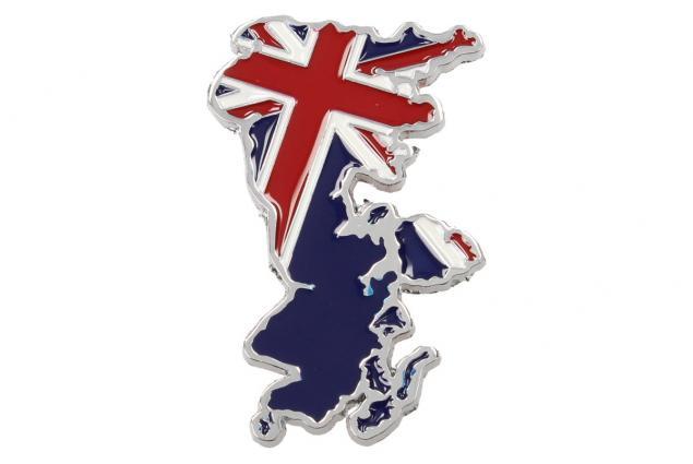 Foto 2 - Kovová samolepka England 6,5 x 4 cm