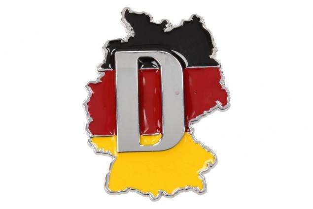 Foto 2 - Kovová samolepka Deutschland 6,5 x 5 cm