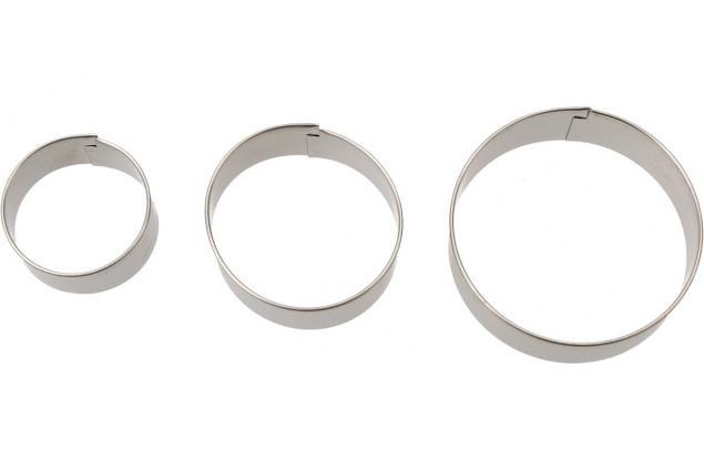 Foto 4 - Vykrajovátka kovová sada 4 druhy 12 kusů
