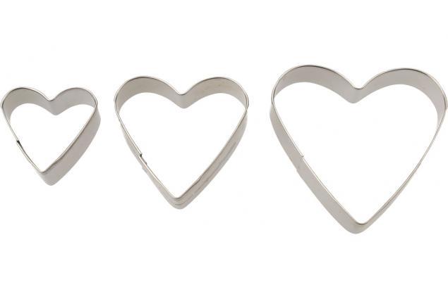 Foto 5 - Vykrajovátka kovová sada 4 druhy 12 kusů