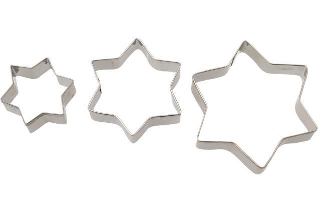 Foto 6 - Vykrajovátka kovová sada 4 druhy 12 kusů