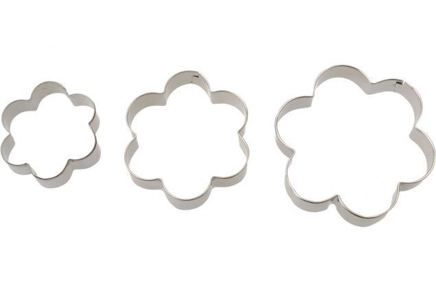 Foto 7 - Vykrajovátka kovová sada 4 druhy 12 kusů