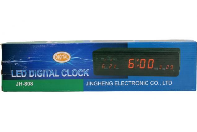 Foto 3 - LED Digitální hodiny s displejem JH-808