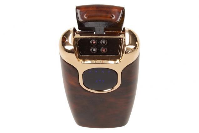 Foto 7 - Dotykový plazmový zapalovač s displejem a USB nabíječkou