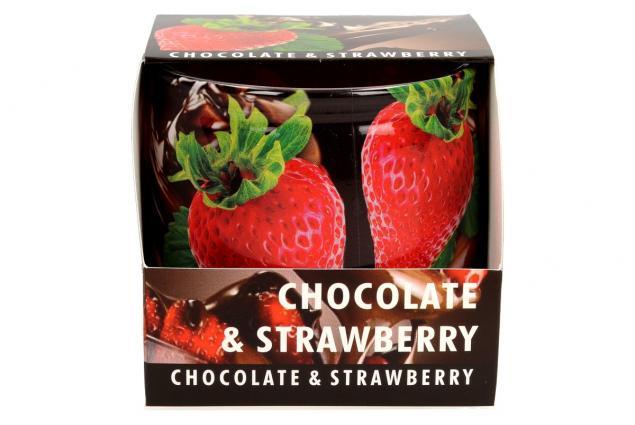 Foto 3 - Vonná svíčka čokoláda a jahody