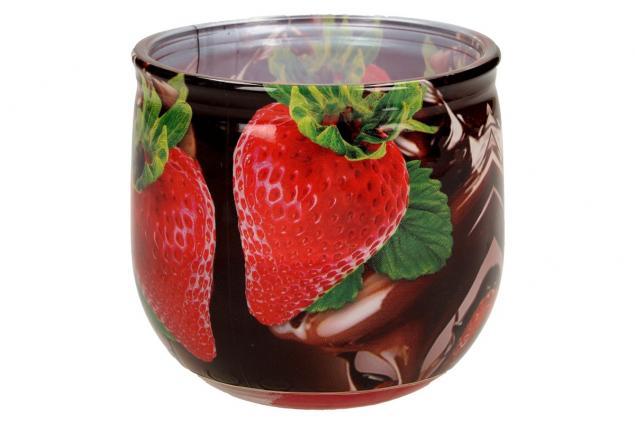 Foto 4 - Vonná svíčka čokoláda a jahody