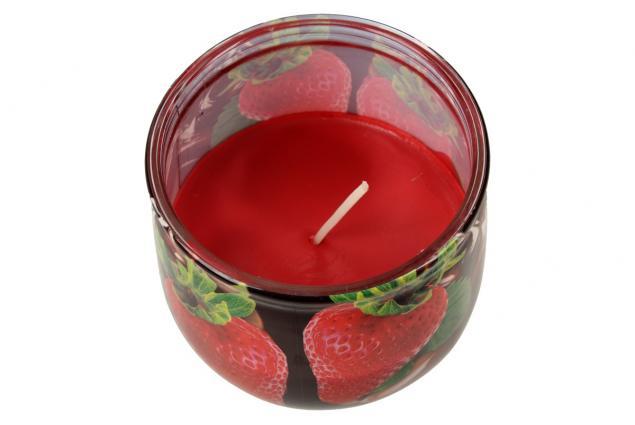 Foto 5 - Vonná svíčka čokoláda a jahody