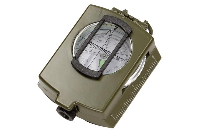 Foto 5 - Compass DC60 vojenského vzhledu zelený