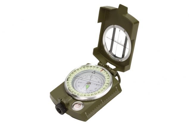 Foto 2 - Compass DC60 vojenského vzhledu zelený