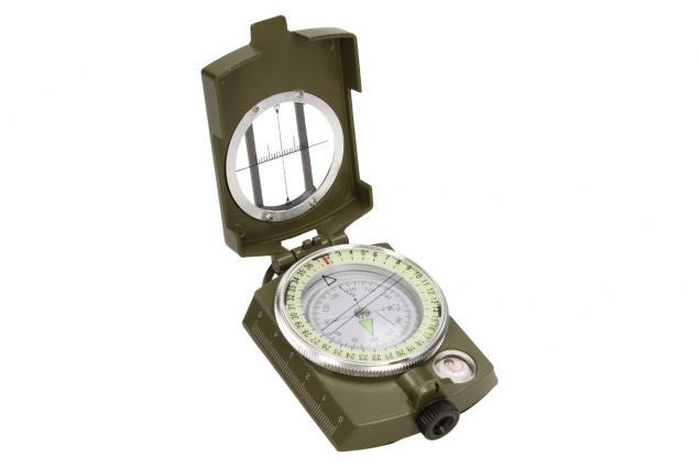 Foto 4 - Compass DC60 vojenského vzhledu zelený