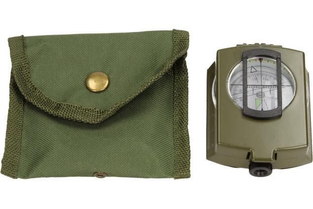 Foto 7 - Compass DC60 vojenského vzhledu zelený
