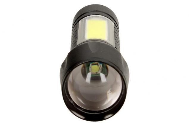Foto 6 - Vodotěsná a nárazuvzdorná nabíjecí LED baterka 2v1 se ZOOMEM