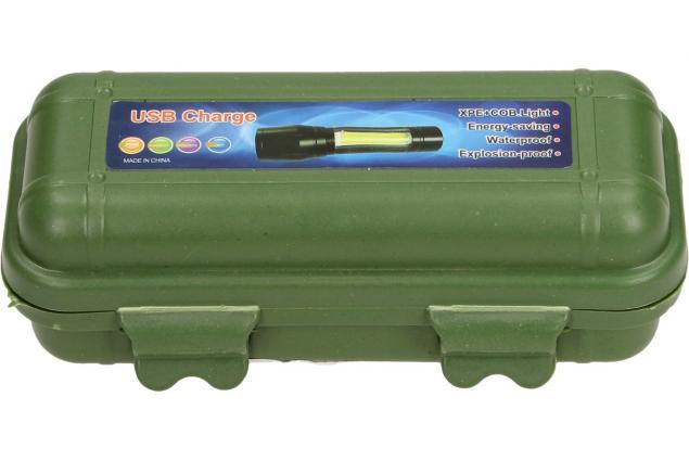 Foto 3 - Vodotěsná a nárazuvzdorná nabíjecí LED baterka 2v1 se ZOOMEM