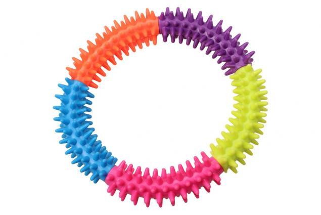 Foto 5 - Gumový kruh pro psa 15 cm