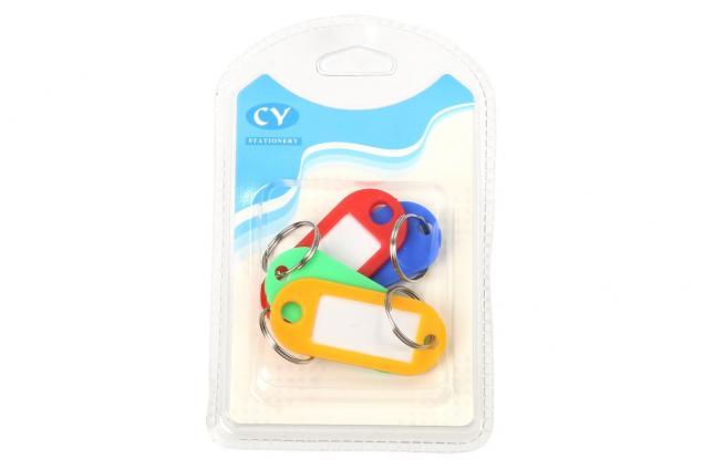 Foto 4 - Popisovací rozlišovač klíčů sada 4 kusy