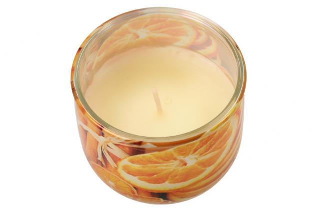 Foto 3 - Vonná svíčka pomeranč a skořice