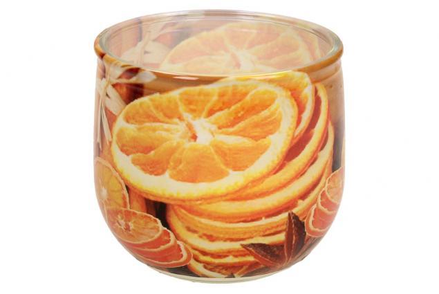 Foto 4 - Vonná svíčka pomeranč a skořice