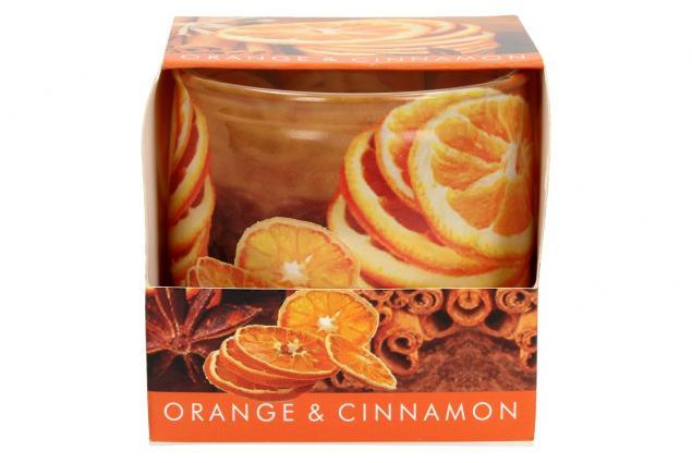 Foto 2 - Vonná svíčka pomeranč a skořice
