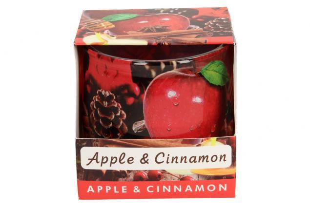 Foto 5 - Vonná svíčka červené jablko a skořice