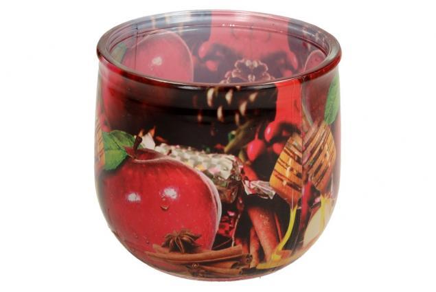 Foto 4 - Vonná svíčka červené jablko a skořice