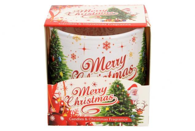 Foto 3 - Vonná svíčka Merry Christmas skořicová
