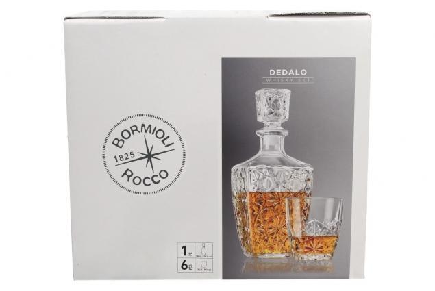 Foto 3 - Dedalo skleněná sada na Whisky 7 kusů