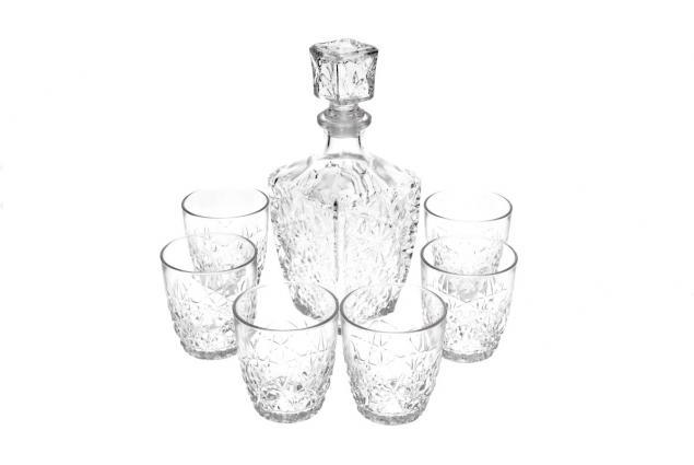 Foto 7 - Dedalo skleněná sada na Whisky 7 kusů