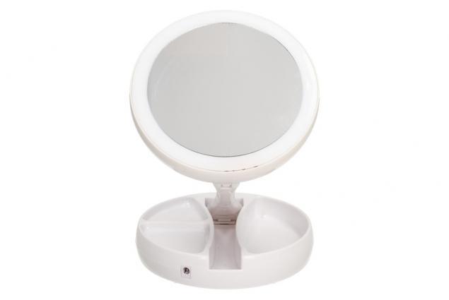 Foto 6 - Oboustranné zrcátko s LED podsvícením