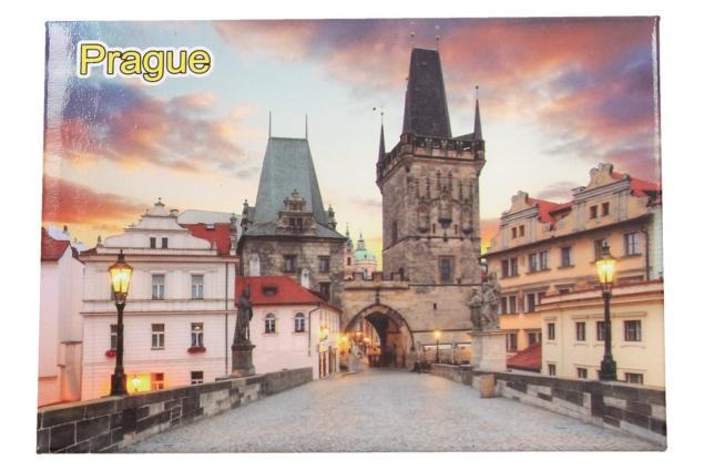 Foto 2 - Praha Karlův most magnet 9 x 6,5 cm