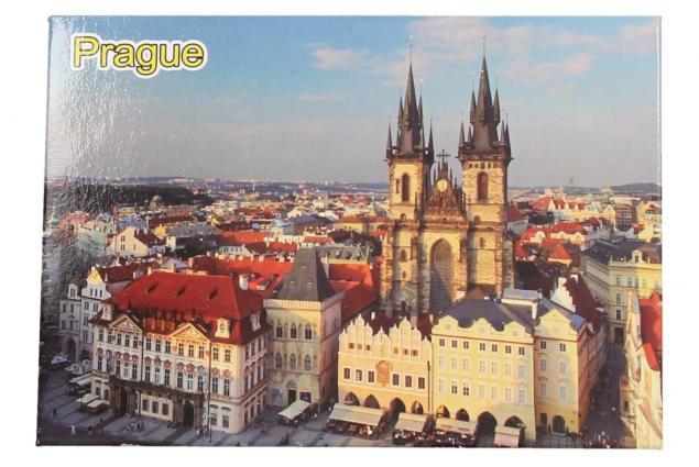 Foto 3 - Praha Týnský chrám magnet 9 x 6,5 cm