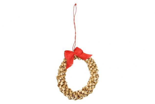 Foto 6 - Vánoční slaměné dekorace na stromeček 26 kusů