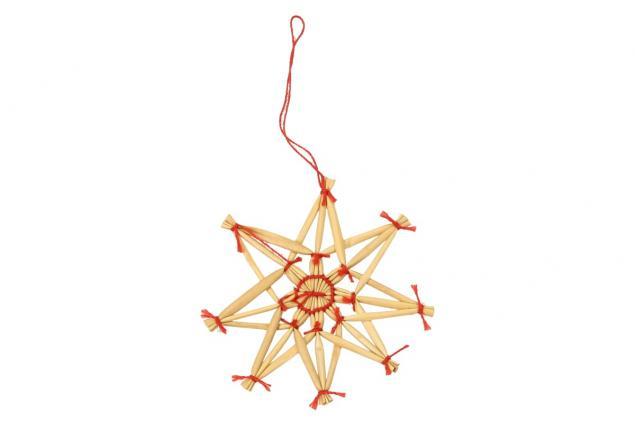 Foto 7 - Vánoční slaměné dekorace na stromeček 26 kusů