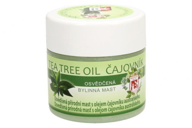 Foto 4 - Bylinná mast 150 ml - tea tree oil čajovník